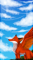 Higher skies by MistyGoldArt