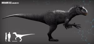 INDOMINUS REX ANIMATION TEST by PREHISTOPIA