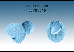 Single Bun [ DOWNLOAD ] by PeachMilk3D