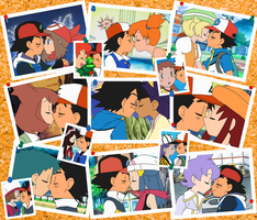 Ash Ketchum's Immense Harem (Updated) by SelenaEde
