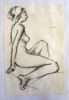 Female nude by Howoffthewall