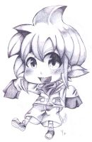 Yuu Chibi Pencil by MayomiCCz