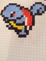 pixleated Squirtle by AmazinPerson