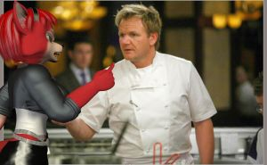 Krymson Tells Chef Ramsey off by Rachidile