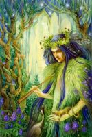 The Forest Prince by DalfaArt