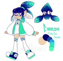 Squidsona: Charon by StarryIsHere