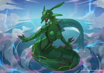 Rayquaza by playfurry
