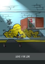 Locase-purelibre-wall-throwie by silifulz