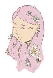 Tattoos and flowers by Norsea