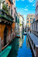 Blue Venezia by Ironscopics