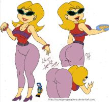 Neighbor Lady Color by SGS by DJWill