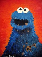 Cookie Monster by Lady-Twiggy