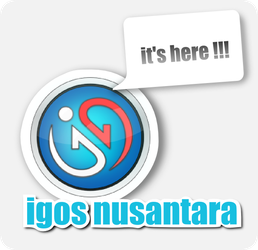 Badge IGOS Nusantara by anangsafroni