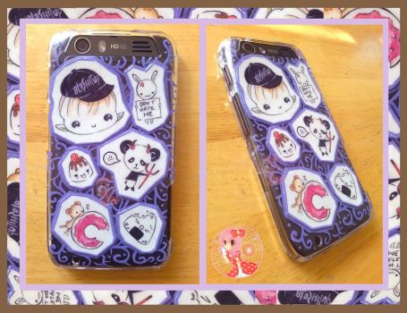1st Custom Phone Case by Octopop-n-Aicing