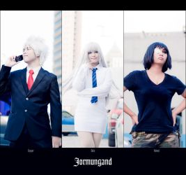 Jormungand by JoviClaire
