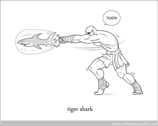 Tiger Shark by Wenamun