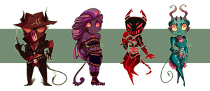 Demon Adopts [Paypal/Points] - [CLOSED] by pw-adopts
