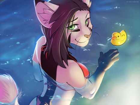 wetcat by 2078