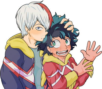 TodoDeku : You're Mine by Ca-cchan