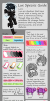 Lux Species Guide (Official) by LithiumRazor