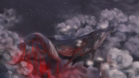 The clouds breathe for you by Valrunie