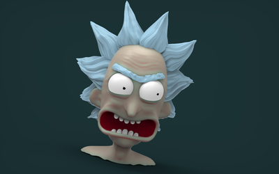 Rick - Re-detailed and Test rendered by juzmental