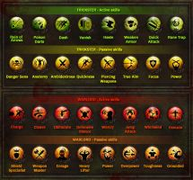 Dungeon Hunter 3 Skills Icons by Panperkin