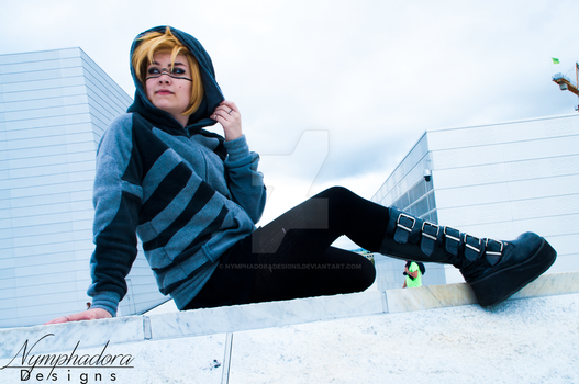 Metal Gear Solid - Raiden Hoodie Photo #6 by NymphadoraDesigns