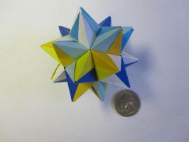 Origami Modular Star by demuredemeanor