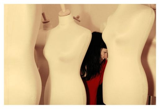 in a world of mannequins... by Suziexxx