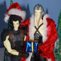 Merry Christmas from Seph + Zack - cropped by sunstroke-art
