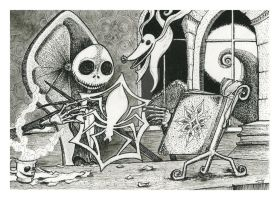 Jack Skellington by Nephellim