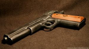 Custom Colt 1911 Gun Prop by JohnsonArmsProps