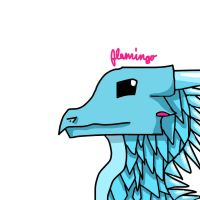Random IceWing by FlamingGatorGirl