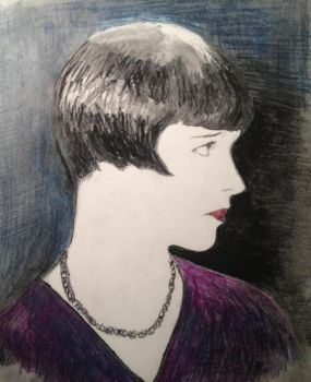 Louise Brooks by filmshirley