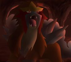 Entei by All0412