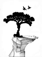 Tree optical illusion by DoubleDrop