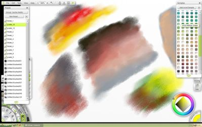 Pastel brushes for ArtRage by pebe1234