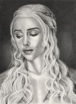 GAME OF THRONE ,Daenerys  Targaryen , by ARTIEFISHEL79