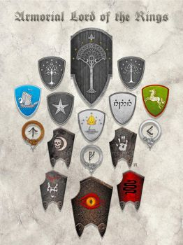 Armorial The Lord of The Rings: The Third Age by Aglargon