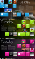 TEASER: WP7 for Rainmeter by fediaFedia