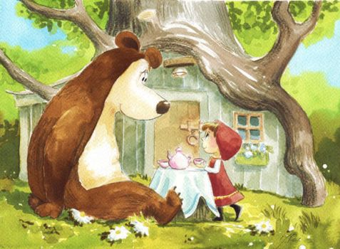 Masza and The Bear by asiapasek