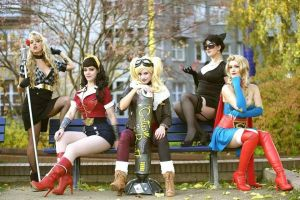 DC Bombshells by Lily-on-the-moon