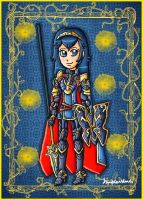Brave Princess Lucina by ninpeachlover