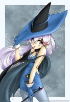 Magic User Akane by TheDrBlue