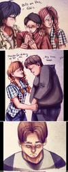 Losers Club - First Time (IT Fan Comic) by thalle-my-honey