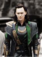 From BnW to Colour- Loki by SchwarzblutSterne