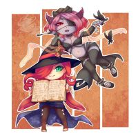 The Witch and the Demon by Yonrei