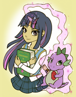 Twilight Sparkle by Christinies