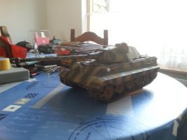King Tiger 1 by lordsjaak